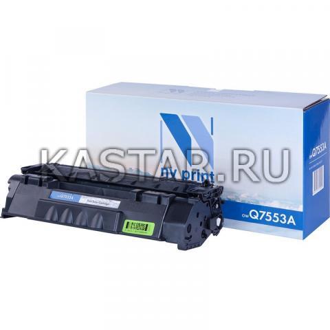 Картридж NVP совместимый NV-Q7553A для HP LaserJet P2014 | P2015 | P2015dn | P2015n | P2015x | M2727nf | M2727nfs Черный (Black) 3000стр.