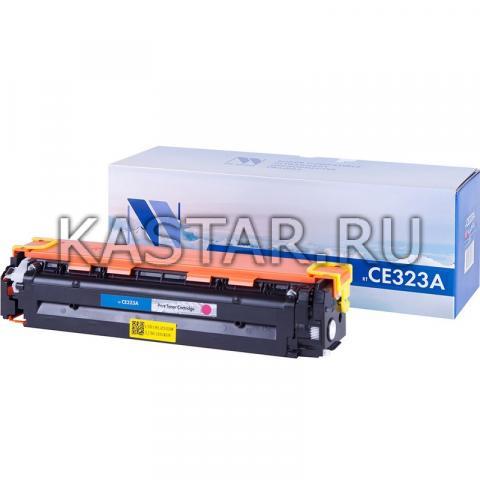 Картридж NVP совместимый NV-CE323A Magenta для HP LaserJet Color Pro CP1525n | CP1525nw | CM1415fn | CM1415fnw Пурпурный (Magenta) 1300стр.