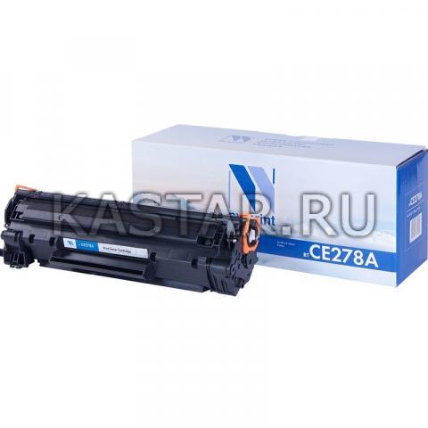 Картридж NVP совместимый NV-CE278A для HP LaserJet Pro P1566 | M1536dnf | P1606dn Черный (Black) 2100стр.