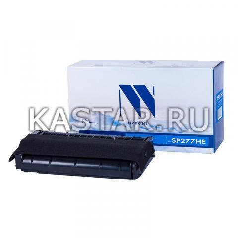 Картридж NVP совместимый NV-SP277HE для Ricoh Aficio SP-277NwX | 277SNwX | 277SFNwX Черный (Black) 2600стр.