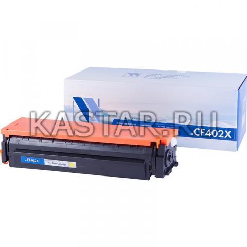 Картридж NVP совместимый NV-CF402X Yellow для HP LaserJet Color Pro M252dw | M252n | M274n | M277dw | M277n Желтый (Yellow) 2300стр.