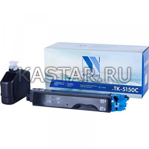 Картридж NVP совместимый NV-TK-5150 Cyan для Kyocera ECOSYS M6035cidn | P6035cdn | M6535cidn Голубой (Cyan) 10000стр.