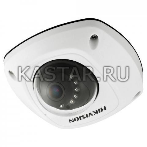 Вандалостойкая IP-камера для транспортных средств Hikvision DS-2CD6520D-I