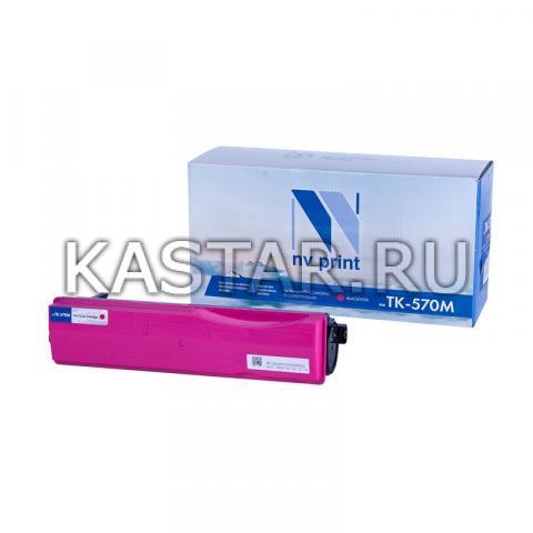 Картридж NVP совместимый NV-TK-570 Magenta для Kyocera FS-C5400DN   ECOSYS P7035cdn Пурпурный (Magenta) 12000стр.