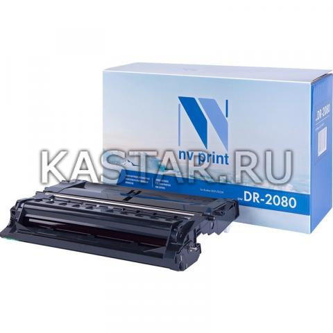 Барабан NVP совместимый NV-DR-2080 для Brother HL-2130R | DCP-7055R | WR Черный (Black) 12000стр.