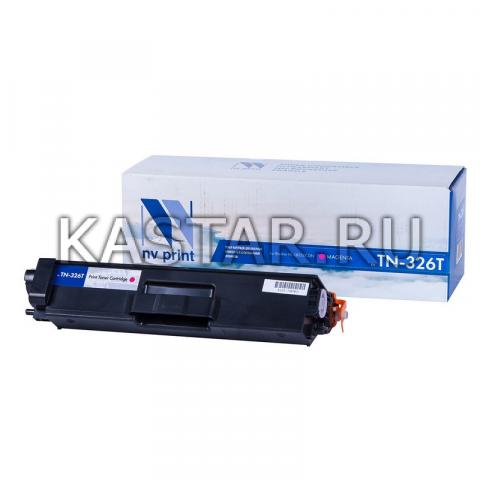Картридж NVP совместимый NV-TN-326T Magenta для Brother HL-L8250CDN Пурпурный (Magenta) 4000стр.