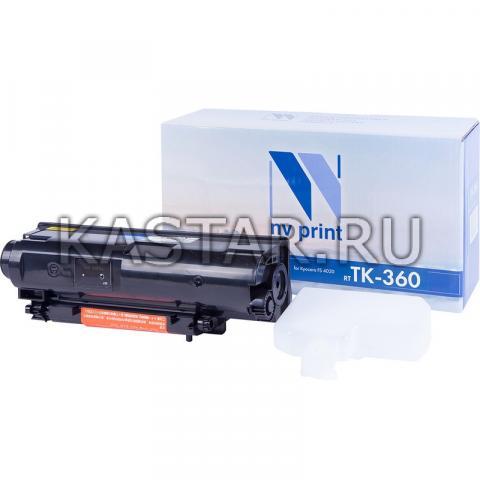 Картридж NVP совместимый NV-TK-360 для Kyocera FS-4020DN Черный (Black) 20000стр.
