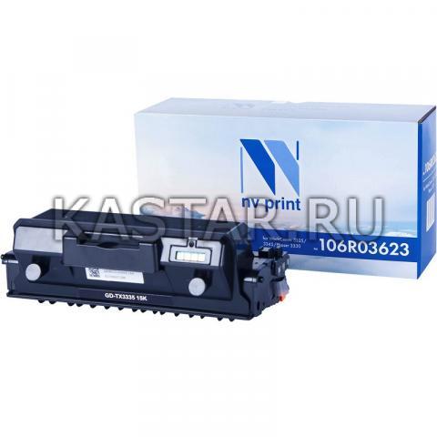 Тонер-картридж NVP совместимый NV-106R03623 для Xerox WorkCentre 3335 | 3345 | Phaser 3330 Черный (Black) 15000стр.