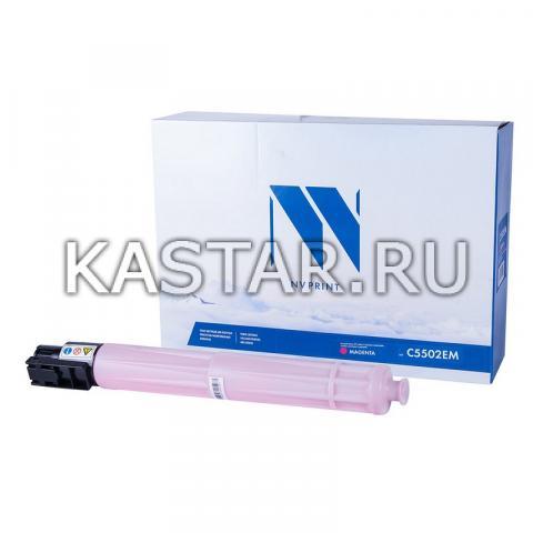 Тонер-картридж NVP совместимый NV-MP C5502E Magenta для Ricoh MP C4502   C4502AD   C4502SPDF   C5502   C5502AD   C5502SPDF Пурпурный (Magenta) 22500стр.