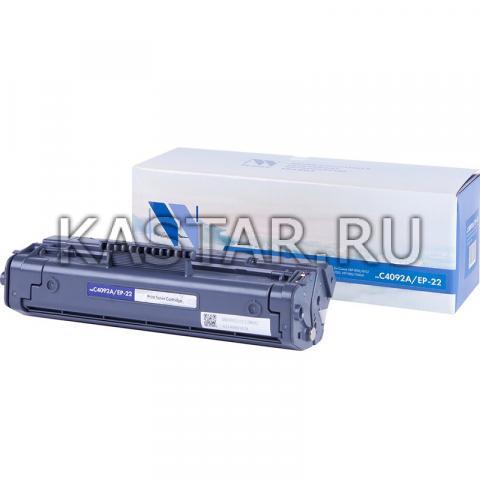 Картридж NVP совместимый NV-C4092A | NV-EP-22 для HP LaserJet 1100 | 1100a | 3200 | 3220 | Canon Laser Shot LBP1120 | 800 | 810 Черный (Black) 2500стр.