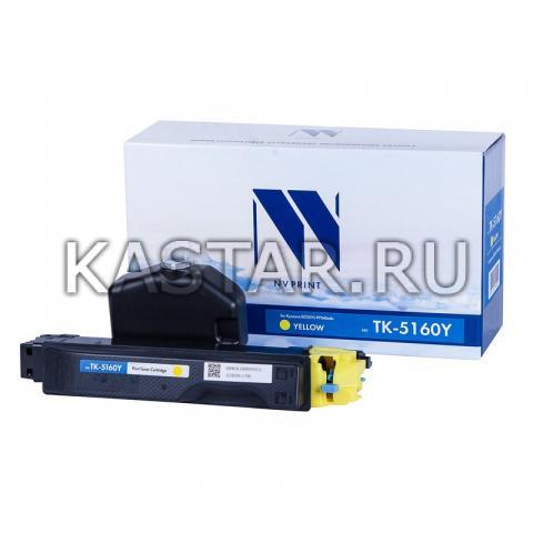 Картридж NVP совместимый NV-TK-5160 Yellow для Kyocera ECOSYS P7040cdn Желтый (Yellow) 12000стр.