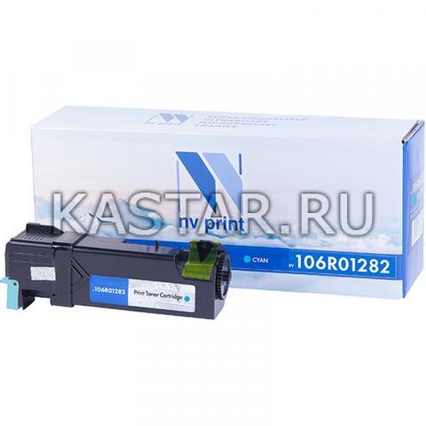 Картридж NVP совместимый Xerox 106R01282 Cyan для Xerox Phaser 6130 Голубой (Cyan) 1900стр.
