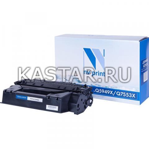 Картридж NVP совместимый NV-Q5949X | Q7553X для HP LaserJet 1320tn | 3390 | 3392 | P2014 | P2015 | P2015dn | P2015n | P2015x | M2727nf | M2727nfs Черный (Black) 7000стр.