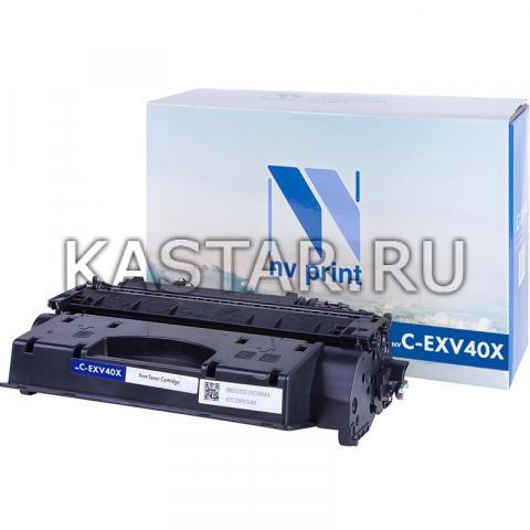 Картридж NVР совместимый NV-C-EXV40X для Canon iR1133 | iR1133A | iR1133IF Черный (Black) 6000стр.