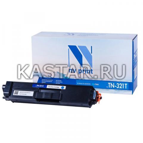 Картридж NVP совместимый NV-TN-321T Cyan для Brother HL-L8250CDN Голубой (Cyan) 1500стр.