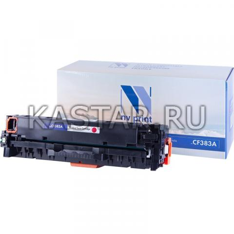 Картридж NVP совместимый NV-CF383A Magenta для HP LaserJet Color Pro M476dn | M476dw | M476nw Пурпурный (Magenta) 2700стр.