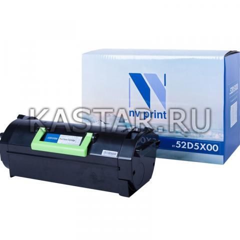 Картридж NVP совместимый NV-52D5X00 для Lexmark MS811dtn | MS811n | MS811dn | MS812de | MS812dn | MS812dtn Черный (Black) 45000стр.