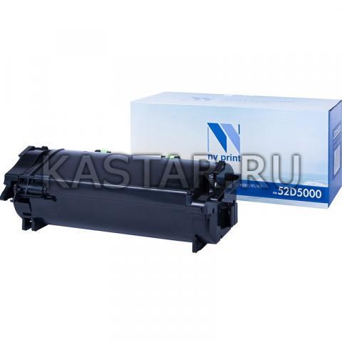 Картридж NVP совместимый NV-52D5000 для Lexmark MS810dtn | MS810n | MS810de | MS810dn | MS811dtn | MS811n | MS811dn | MS811dtn | MS812dtn | MS812de | MS812dn Черный (Black) 6000стр.