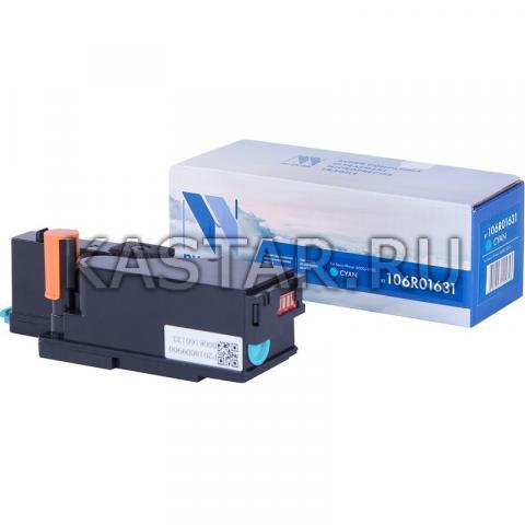 Картридж NVP совместимый NV-106R01631 Cyan для Xerox Phaser 6000 | 6010 | WorkCentre 6015 Голубой (Cyan) 1000стр.