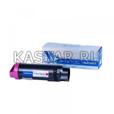 Картридж NVP совместимый NV-106R03694 Magenta для Xerox Phaser 6510 | WorkCentre 6515 Пурпурный (Magenta) 4300стр.