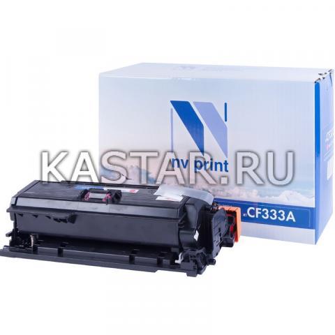 Картридж NVP совместимый NV-CF333A Magenta для HP LaserJet Color M651dn | M651n | M651xh Пурпурный (Magenta) 15000стр.