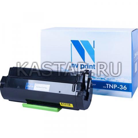 Тонер картридж NVP совместимый NV-TNP-36 для Konica Minolta 3300P | 3301P Черный (Black) 10000стр.
