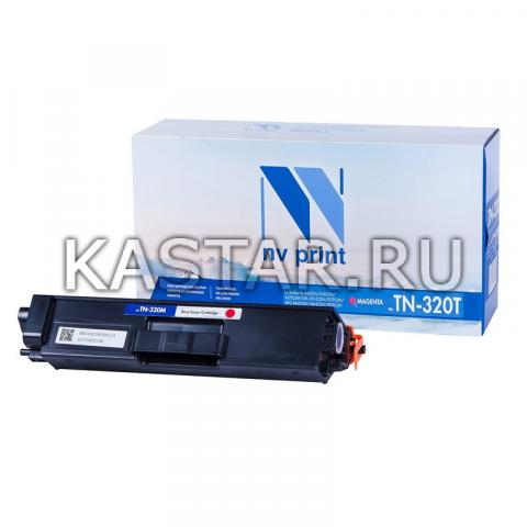 Картридж NVP совместимый NV-TN-320T Magenta для Brother HL-4140CN | 4150CDN | 4570CDW | DPC-9055CDN | 9270CDN | MFC-9460CDN | 9465CDN | 9970CDN Пурпурный (Magenta) 1500стр.
