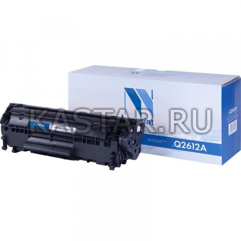 Картридж NVP совместимый NV-Q2612A для HP LaserJet M1005 | 1010 | 1012 | 1015 | 1020 | 1022 | M1319f | 3015 | 3020 | 3030 | 3050 | 3050z Черный (Black) 2000стр.