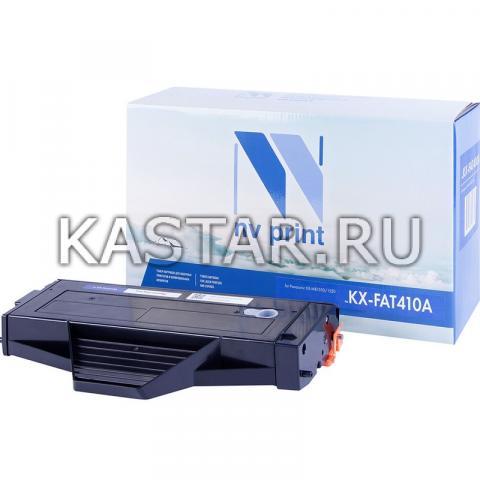 Картридж NVP совместимый NV-KX-FAT410A для Panasonic KX-MB1500   MB1520   MB1530   MB1536 Черный (Black) 2500стр.