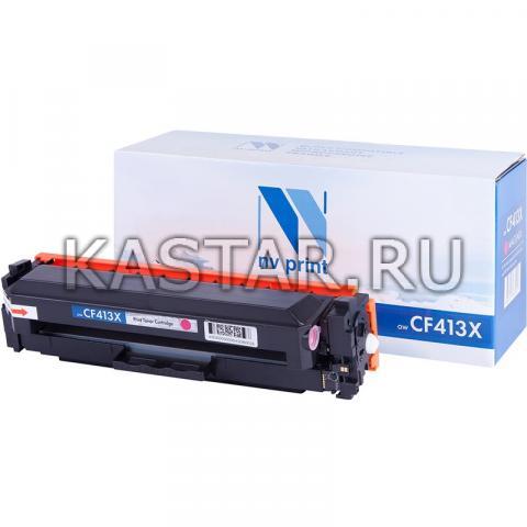 Картридж NVP совместимый NV-CF413X Magenta для HP LaserJet Color Pro M377dw | M452nw | M452dn | M477fdn | M477fdw | M477fnw Пурпурный (Magenta) 5000стр.