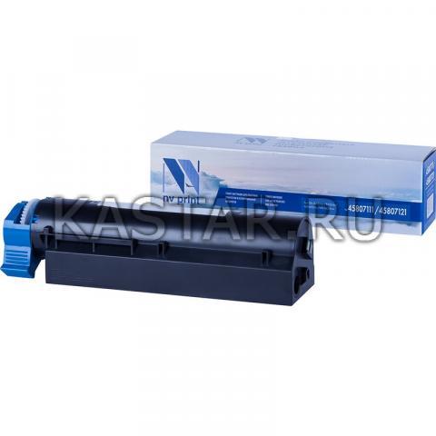 Картридж NVP совместимый NV-45807111 | 45807121 для Oki B432dn | B512dn | MB492dn | MB562dnw Черный (Black) 12000стр.