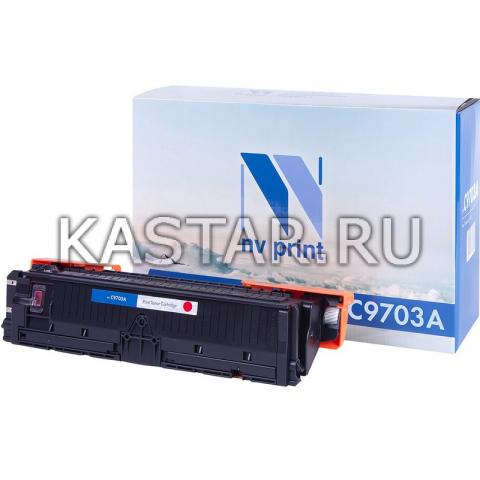 Картридж NVP совместимый NV-C9703A для HP LaserJet Color 1500 | 2500 Пурпурный (Magenta) 4000стр.