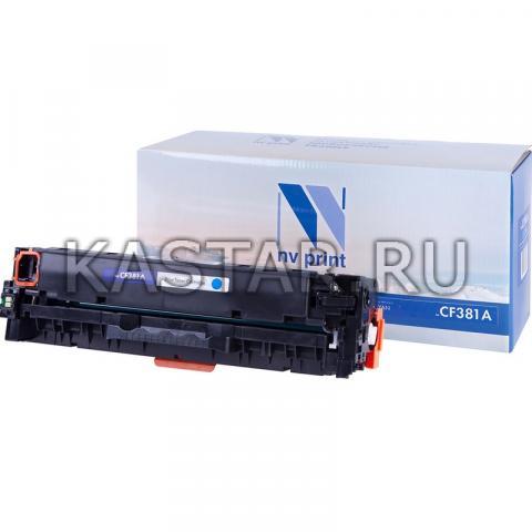 Картридж NVP совместимый NV-CF381A Cyan для HP LaserJet Color Pro M476dn | M476dw | M476nw Голубой (Cyan) 2700стр.