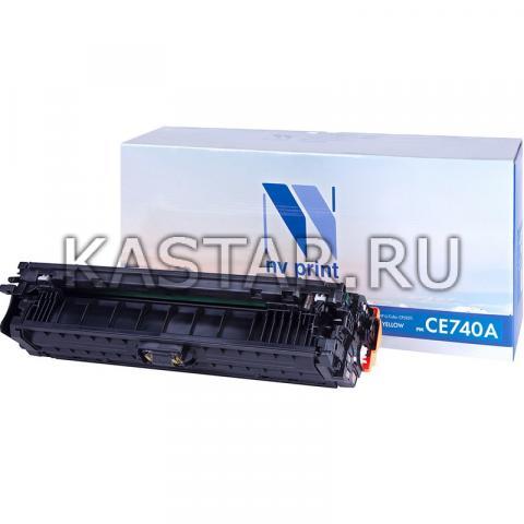 Картридж NVP совместимый NV-CE740A Black для HP LaserJet Color CP5220 | CP5225 | CP5225dn | CP5225n Черный (Black) 7000стр.