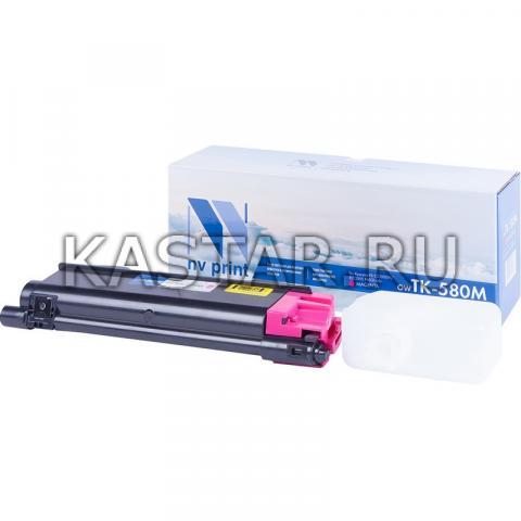 Картридж NVP совместимый NV-TK-580 Magenta для Kyocera  FS C5150DN | ECOSYS P6021cdn Пурпурный (Magenta) 2800стр.