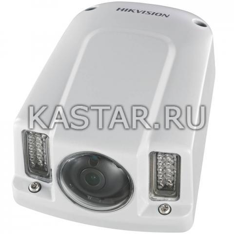 Вандалозащищенная IP-камера для транспорта Hikvision DS-2CD6510-IO