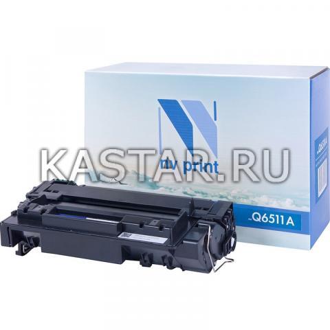 Картридж NVP совместимый NV-Q6511A для HP LaserJet 2410   2420   2420d   2420dn   2420n   2430dtn   2430t   2430tn Черный (Black) 6000стр.