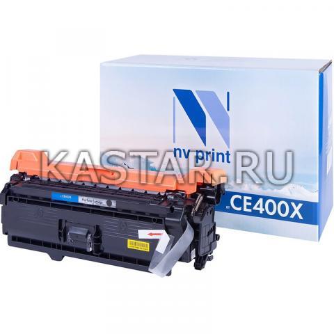 Картридж NVP совместимый NV-CE400X Black для HP LaserJet Color M551n | M551xh | M551dn | M570dn | M570dw | M575dn | M575f | M575c Черный (Black) 11000стр.