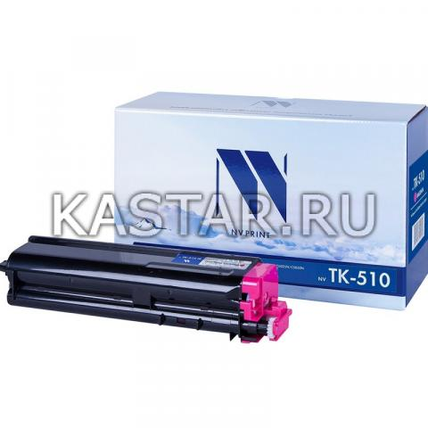 Картридж NVP совместимый NV-TK-510 Magenta для Kyocera FS-C5020N | 5025N | 5030N Пурпурный (Magenta) 8000стр.