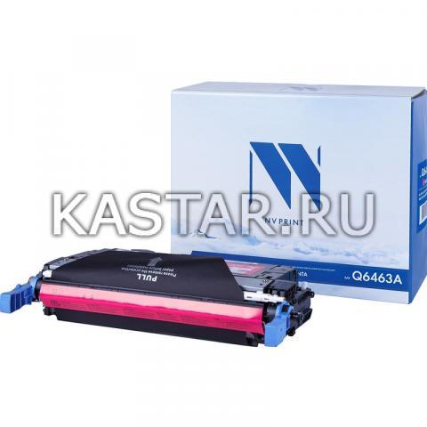 Картридж NVP совместимый NV-Q6463A Magenta для HP LaserJet Color 4730 | MFP-4730x | 4730xm | 4730xs | CM4730 | CM4730f | CM4730fm | CM4730fsk Пурпурный (Magenta) 12000стр.
