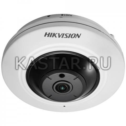 Сетевая 5 Мп FishEye-камера Hikvision DS-2CD2955FWD-IS с ИК-подсветкой