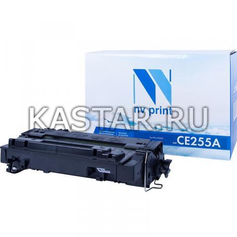 Картридж NVP совместимый NV-CE255A для HP LaserJet M525dn | M525f | M525c | Pro M521dw | M521dn | P3015 | P3015d | P3015dn | P3015x Черный (Black) 6000стр.