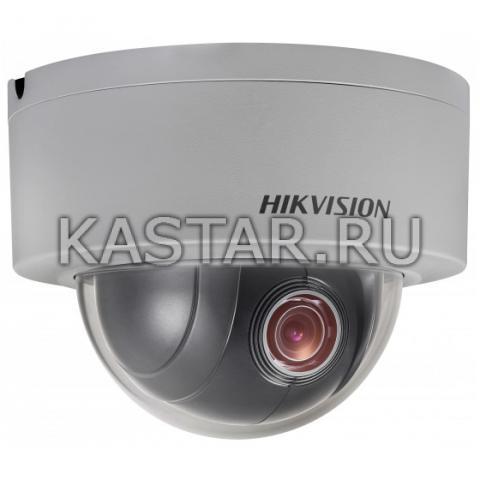 Уличная вандалостойкая сетевая PTZ-камера Hikvision DS-2DE3204W-DE с оптикой x4