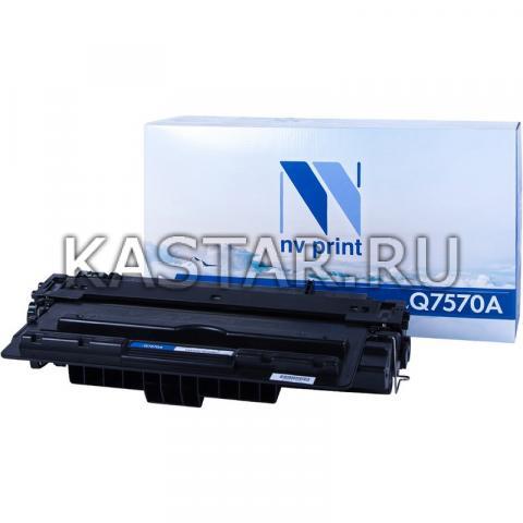 Картридж NVP совместимый NV-Q7570A для HP LaserJet M5025 | M5035 | M5035x | M5035xs Черный (Black) 15000стр.