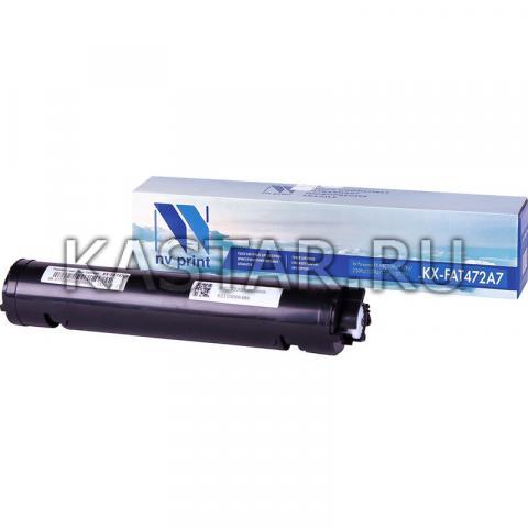 Картридж NVP совместимый NV-KX-FAT472A7 для Panasonic KX-MB2110RU | 2117RU | 2130RU | 2137RU | 2170RU | 2177RU Черный (Black) 2000стр.