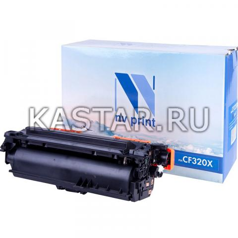Картридж NVP совместимый NV-CF320X Black для HP LaserJet Color MFP-M680dn | M680f | Flow M680z Черный (Black) 21000стр.