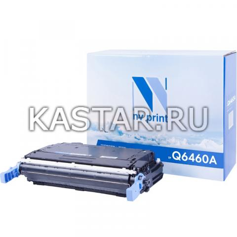 Картридж NVP совместимый NV-Q6460A Black для HP LaserJet Color 4730 | MFP-4730x | 4730xm | 4730xs | CM4730 | CM4730f | CM4730fm | CM4730fsk Черный (Black) 12000стр.