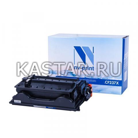 Картридж NVP совместимый NV-CF237X для HP LaserJet Enterprise M608dn | M608n | M608x | M609dn | M609x | M631h | M631dn | M631z | M632z | M632h | M632fht Черный (Black) 25000стр.