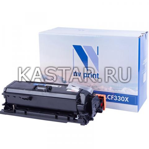 Картридж NVP совместимый NV-CF330X Black для HP LaserJet Color M651dn | M651n | M651xh Черный (Black) 20500стр.