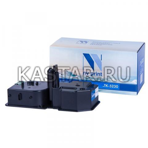 Картридж NVP совместимый NV-TK-5230 Black для Kyocera ECOSYS P5021cdw | P5021cdn | M5521cdw | M5521cdn Черный (Black) 2600стр.